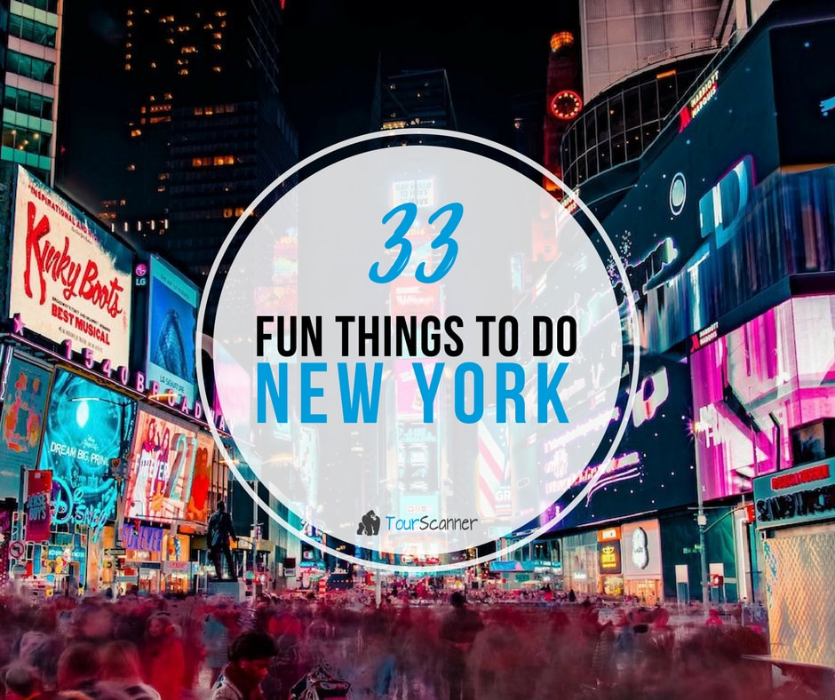 34 Fun Things to Do in NYC - Cool and Unusual Activities