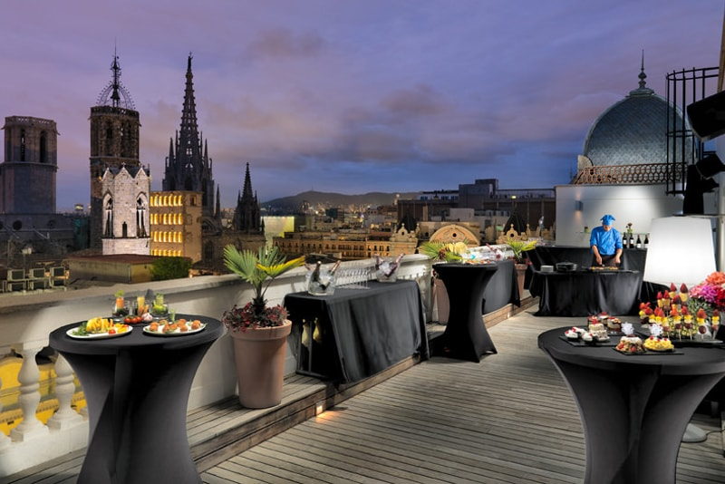 Rooftops in Barcelona - things to do in Barcelona