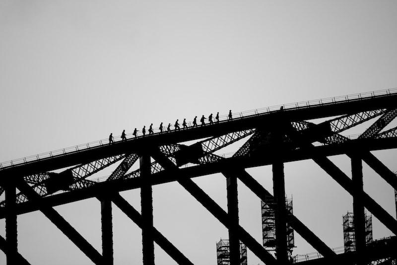 Climbing the Sydney Harbor Bridge - Fun things to do in Australia