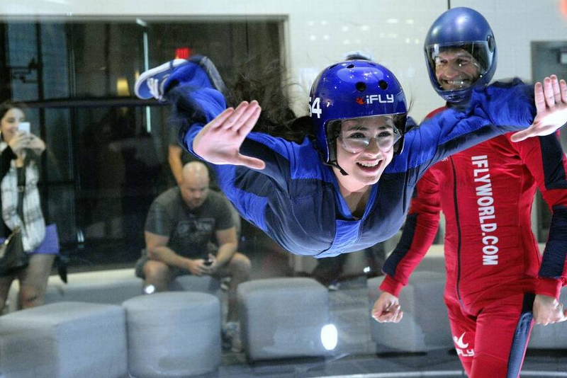 Indoor skydiving in NYC - Fun things to do in NYC