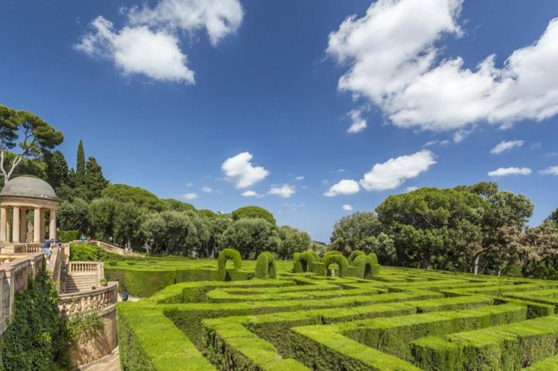 Labirinto Parque da Horta -  Coisas para fazer em Barcelona