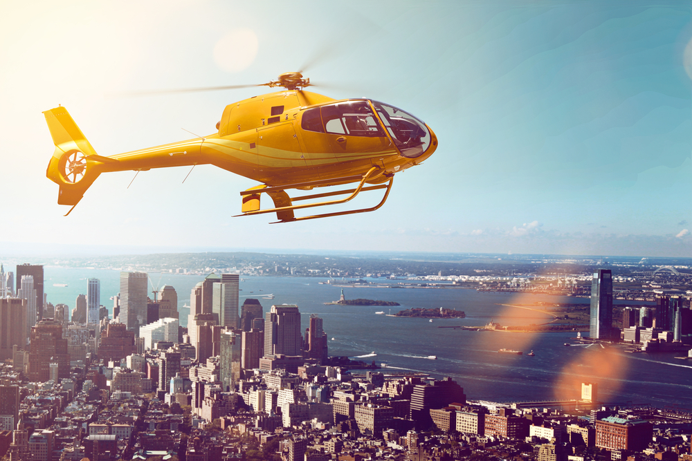 new york city helicopter tour - Fun things to do in NYC