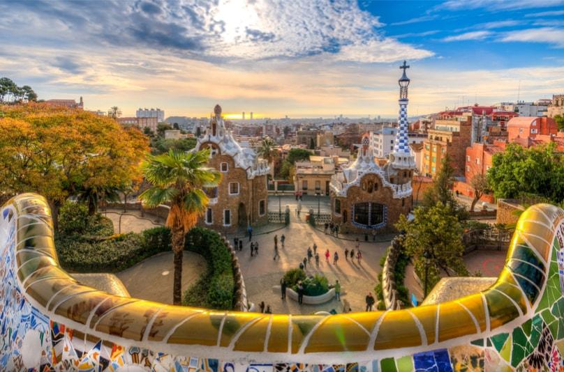 Park Guell - Coisas para fazer em Barcelona