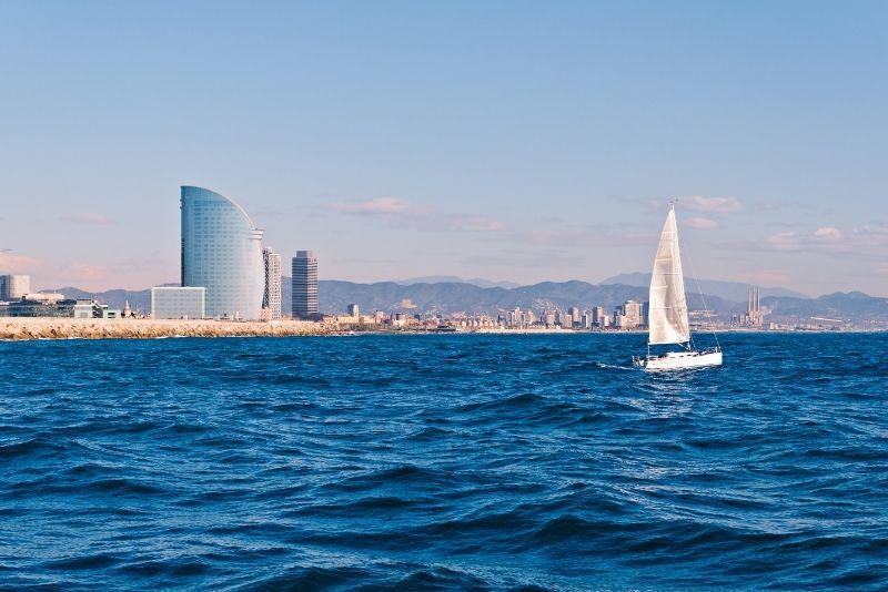Segelboottour in Barcelona