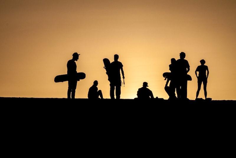 Sandboarding in dunes - Fun things to do in Australia