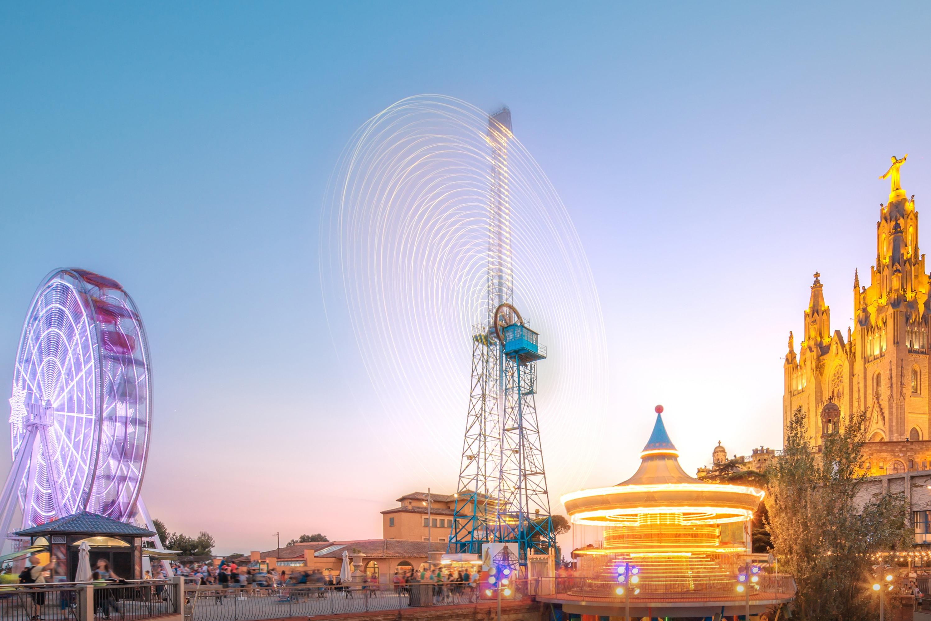 Parque de diversões Tibiado -  Coisas para fazer em Barcelona