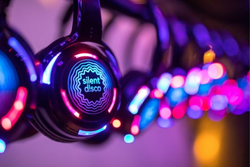 silent disco experience in London