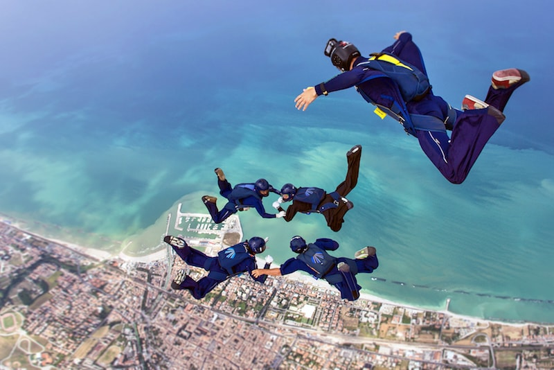 Tandem skydive - Fun things to do in Australia