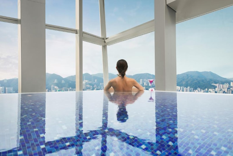 Ritz-Carlton Pool - Coisas para fazer em Hong Kong
