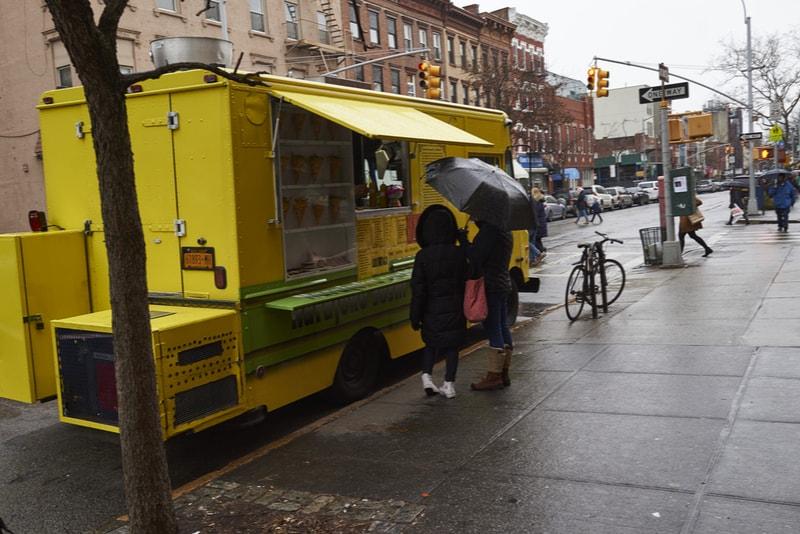 Caminhão de comida Wafel & Dinges - Coisas para fazer em Nova Iorque