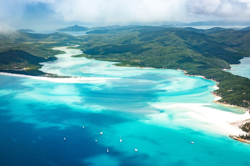 The Whitsunday Islands - Fun things to do in Australia