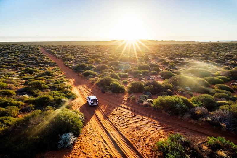 À bord d'un 4X4 Taster - Que faire en Australie