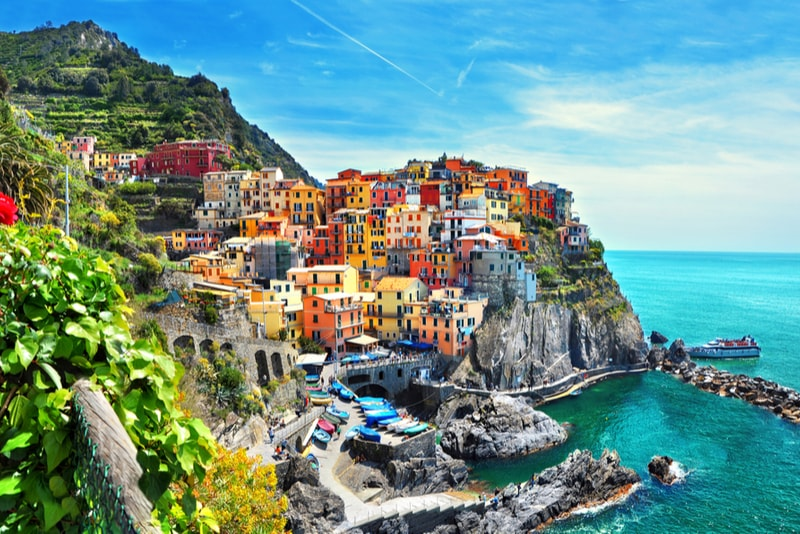Cinque Terre, Ligura - places to visit in Italy