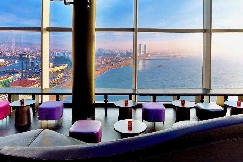 Bar Eclipse à l'hôtel W - Choses à Faire à Barcelone