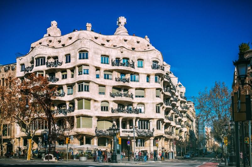 Casa Milà de Gaudì à Barcelone - Choses à Faire à Barcelone