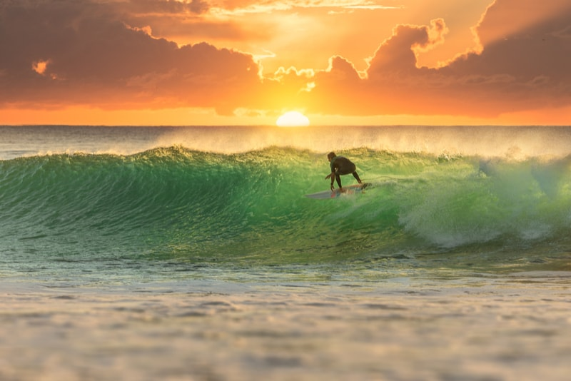 Gold Coast-Australia-surfing spots