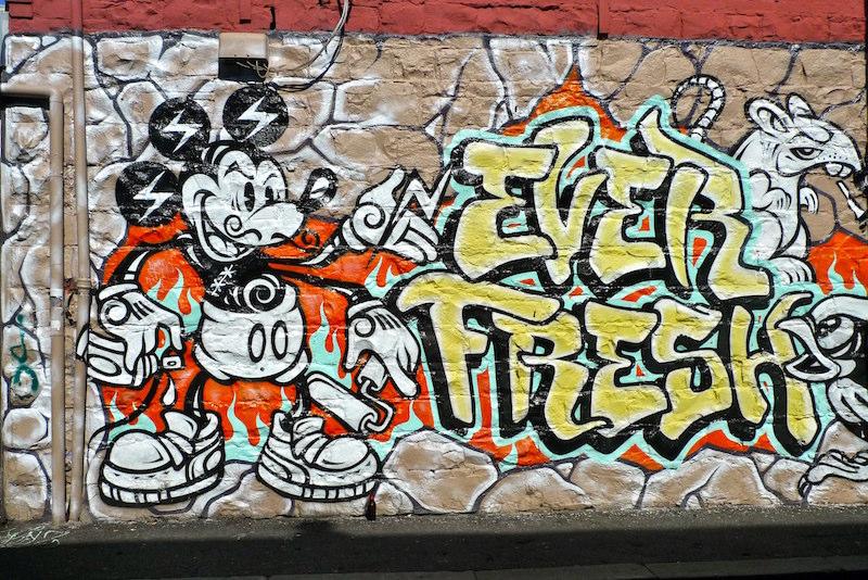 La rue des graffitis à Melbourne - Que faire en Australie?