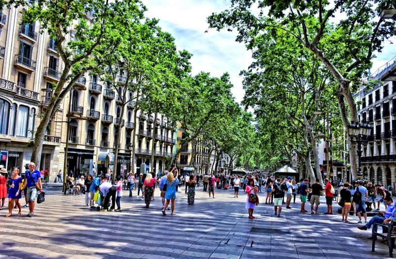 Las Ramblas à Barcelone - Choses à Faire à Barcelone