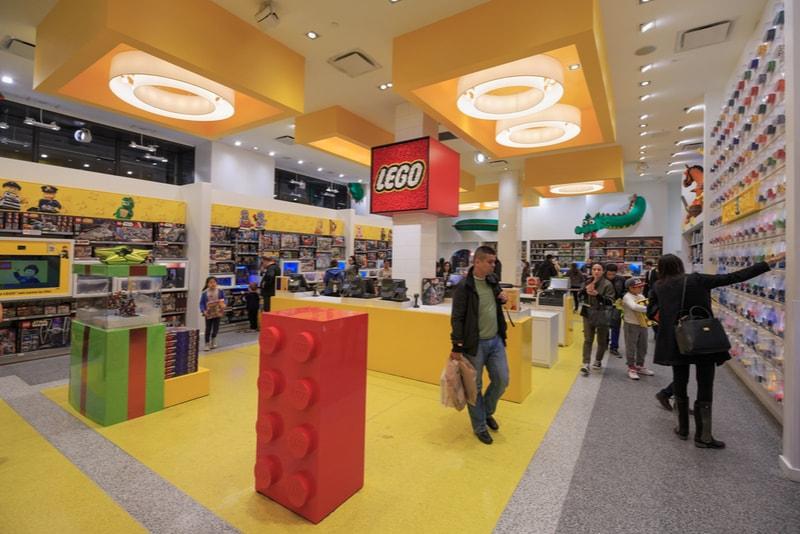 Lego store - Choses à faire à New York