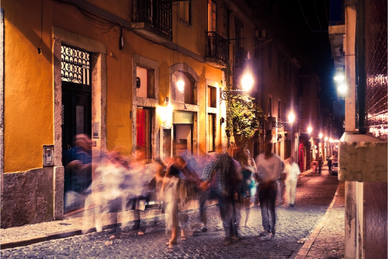 Lisbon Bairro Alto Nightlife - must do must see must eat