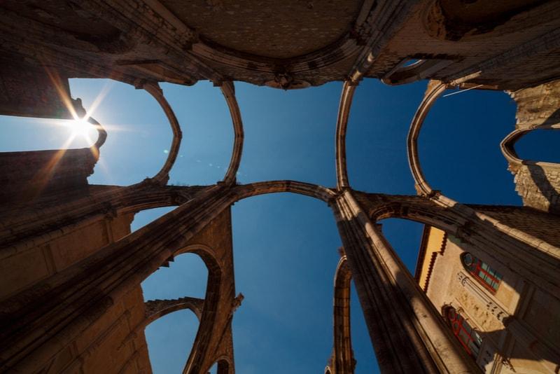 Lisboa Ruínas do Convento do Carmo - Coisas para fazer em Lisboa