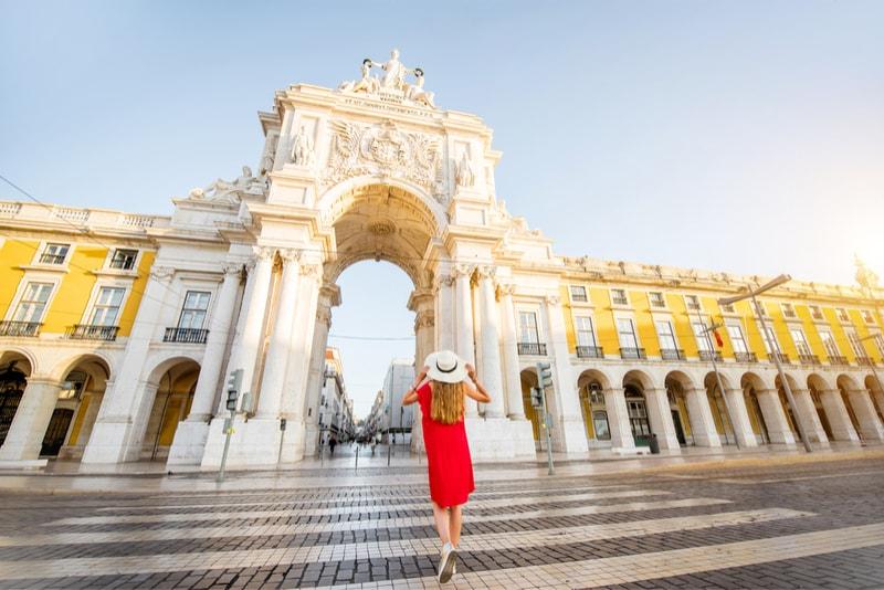 Praça do Comércio - Coisas para fazer em Lisboa