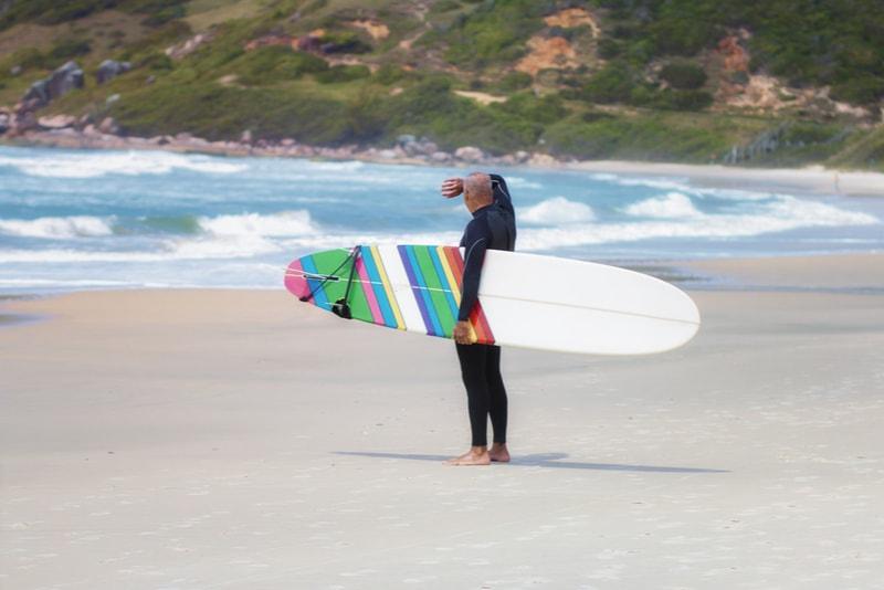 Praia do Rosa, Brazil-surfing spot