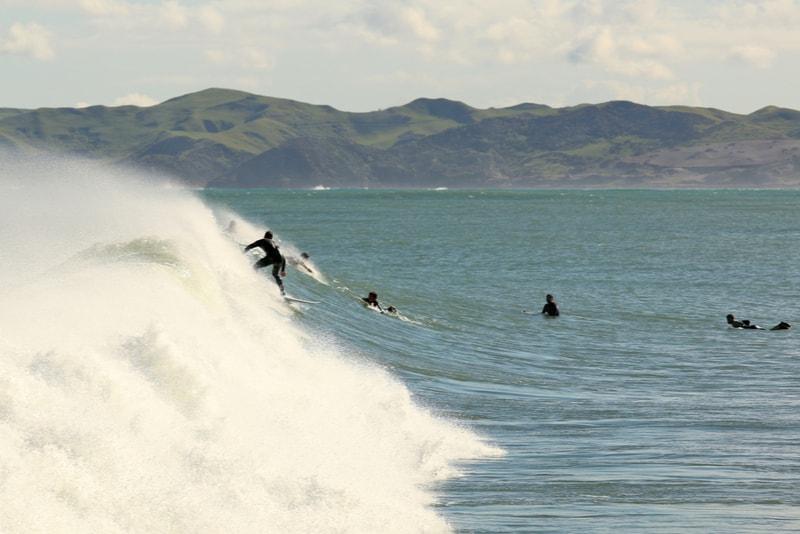 Raglan, New Zealand-surfing spots