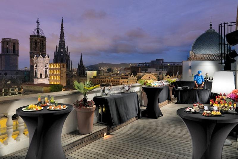 Rooftop à Barcelone - Choses à Faire à Barcelone