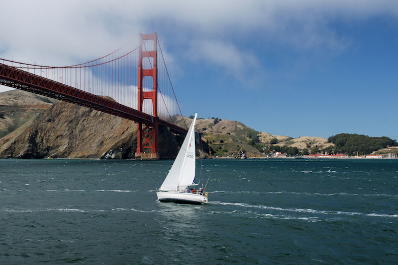 Naviguer jusqu'au Golden Gate Bridge - Choses à Faire à San Francisco