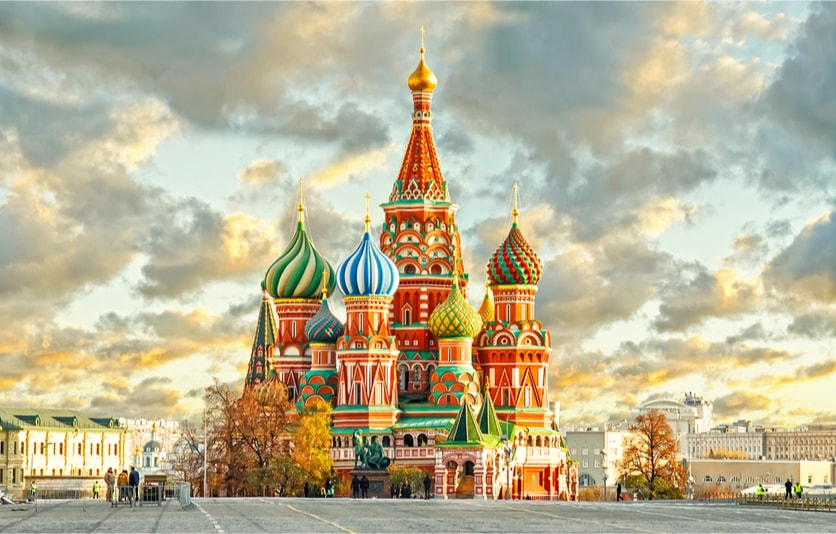 Saint Basil's Cathedral & the red square - Bucket List ideas