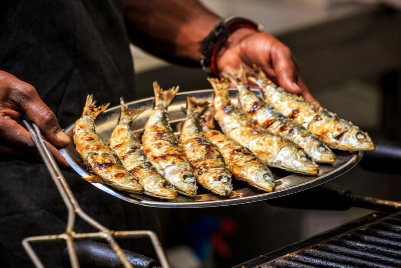 Sardinhas - Restaurants à Lisbonne