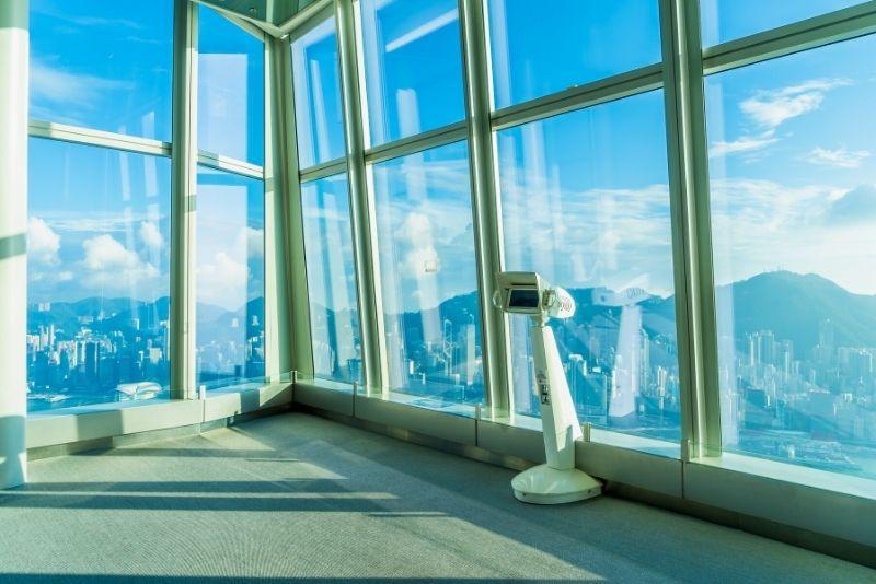 Sky100 observation deck, Hong Kong