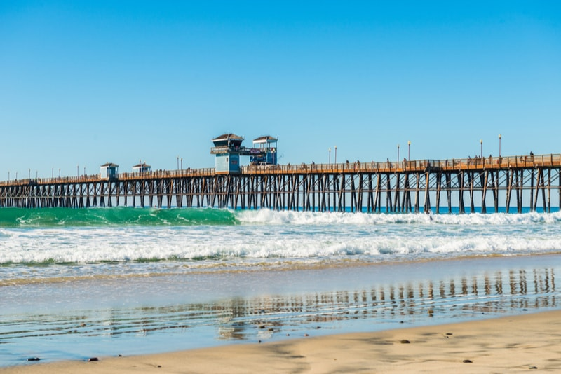 Trestles, California-surfing spots