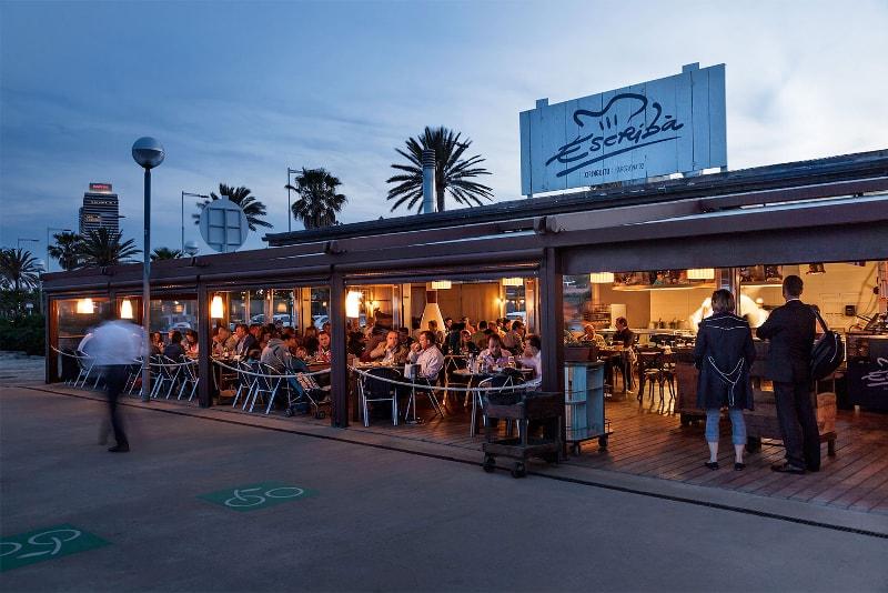 Xiringuito Escriba à Barcelone pour la meilleure paella - Choses à Faire à Barcelone