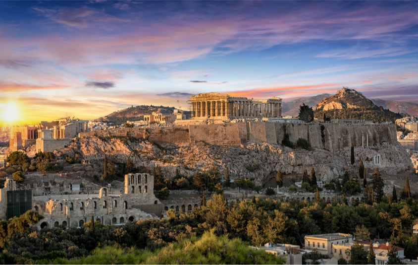 Acropolis in Athens - The Ultimate Travel Bucket List – 100 Best Things to Do