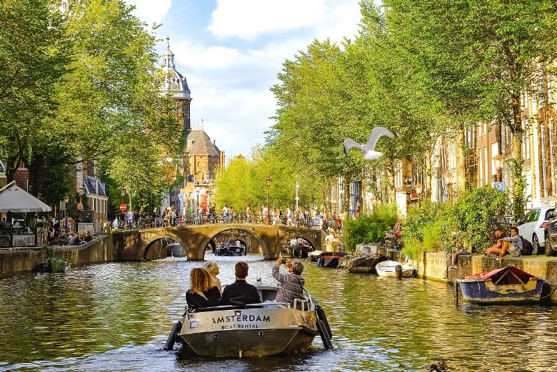 Canaux d'Amsterdam - 100 bucket list