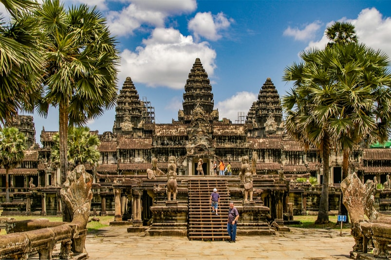 AngKor Wat in Cambodia - The Ultimate Travel Bucket List – 100 Best Things to Do
