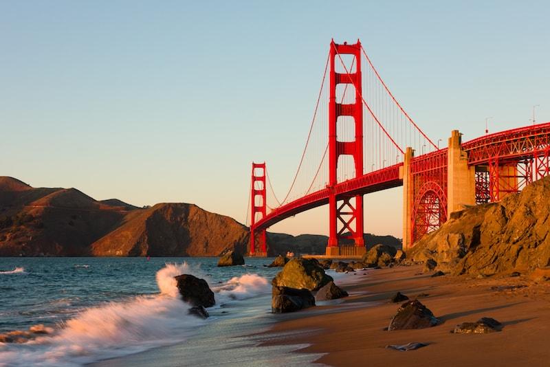 Golden Gate Bridge - Choses à Faire à San Francisco