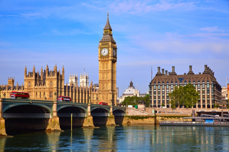 Big Ben in London - Bucket List ideas