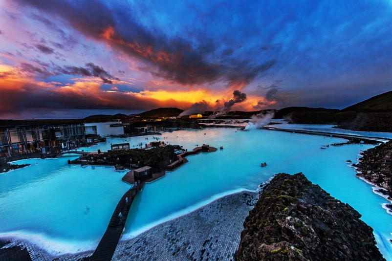Blue Lagoon in Grindavìk,Iceland - Bucket List ideas