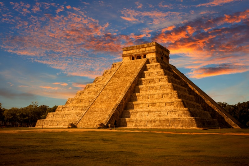 Chichen Itza in Yutacan, Mexico - Bucket List Ideas