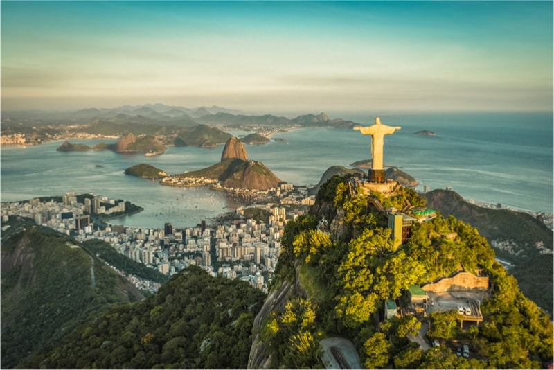 Christ the Redeemer in Rio de Janeiro, Brazil - The Ultimate Travel Bucket List – 100 Best Things to Do