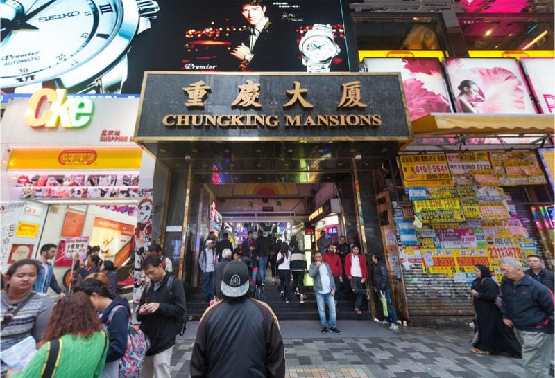 Chungking Mansions - Coisas para fazer em Hong Kong