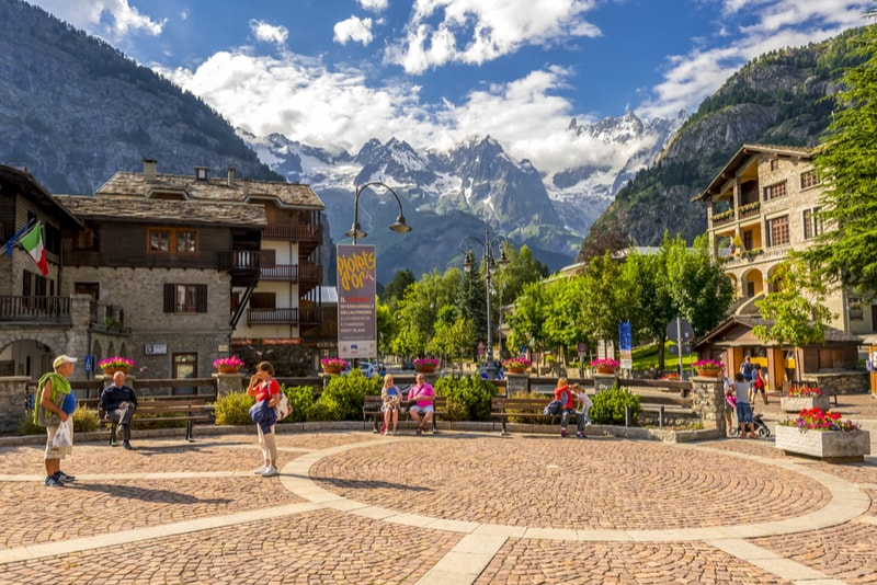Courmayeur - places to visit in Italy