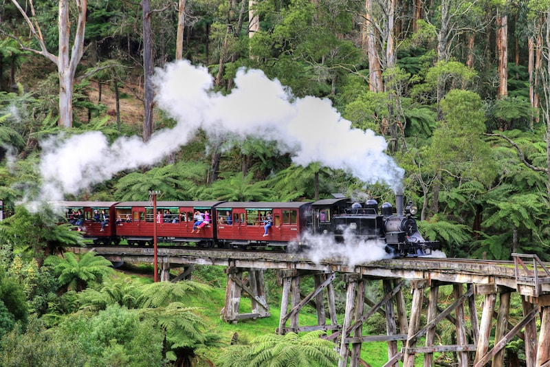 Puffing Billy - Que faire en Australie