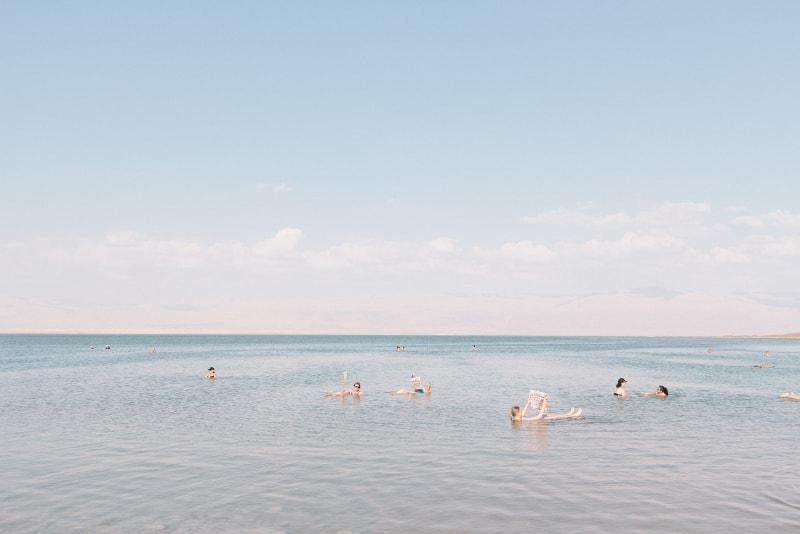 The Dead Sea in Jordania - Bucket List ideas