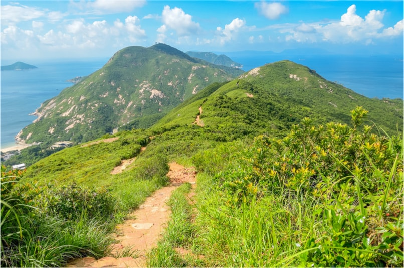 Dragon's back trail - things to do in Hong Kong