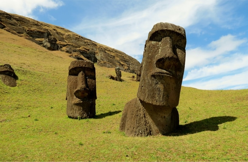 Easter Island in Polinesia - Bucket List ideas