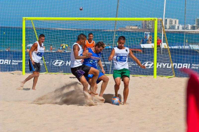 beach soccer - cose da fare a Barcellona